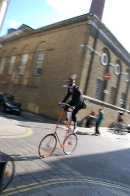 a bike / London
