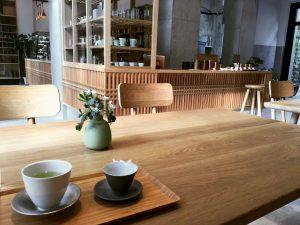 開花堂カフェ