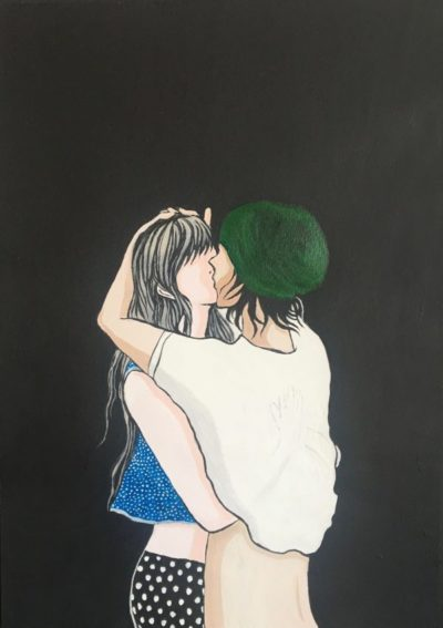 """It Never Ends(Green) image"" illustrated by kahoko"