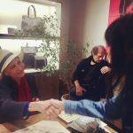 Anna Karinaさんと握手!の奇跡!
