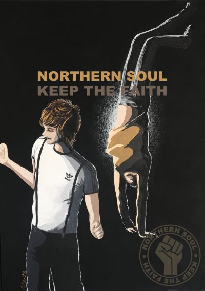 """NORTHERN SOUL image Ver3"" illustrated by kahoko"