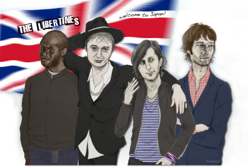 libertines illustrated by kahoko
