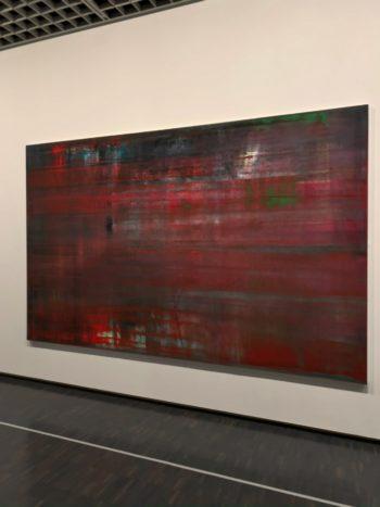 ゲルハルト・リヒター 抽象絵画(赤)