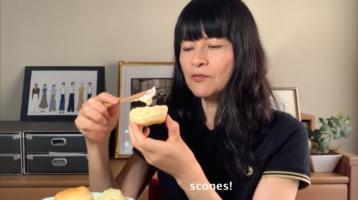 scones試食中