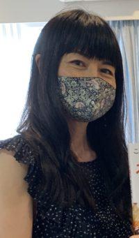 Kanoko with mask